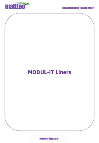 MODUL-iT Liners