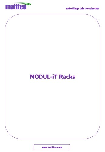 Modul-it racks