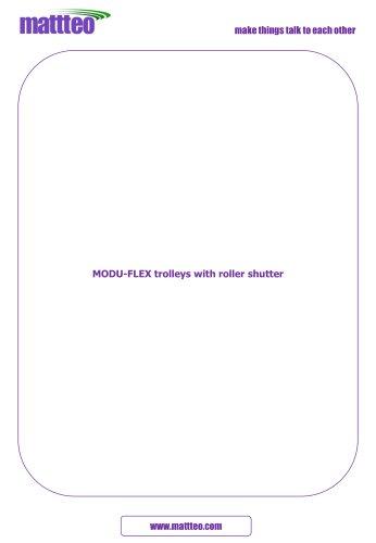 MODULAR TROLLEYS WITH ROLLER SHUTTER