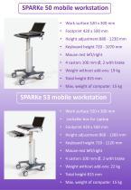 SPARKe mobile workstations - 2