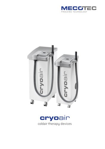 cryoair cold air therapy devices