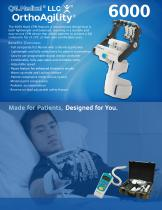 OrthoAgility 6000 Hand CPM Specification Brochure - 1