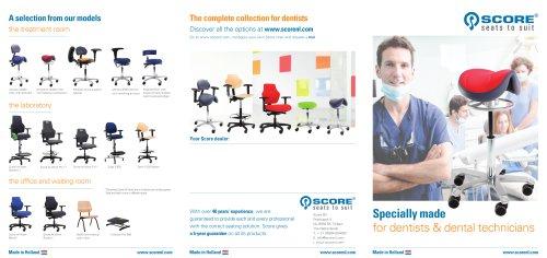 Score Brochure Dental