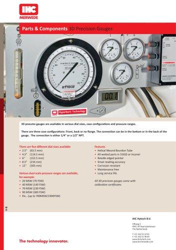 Parts & Components 3D Precision Gauges