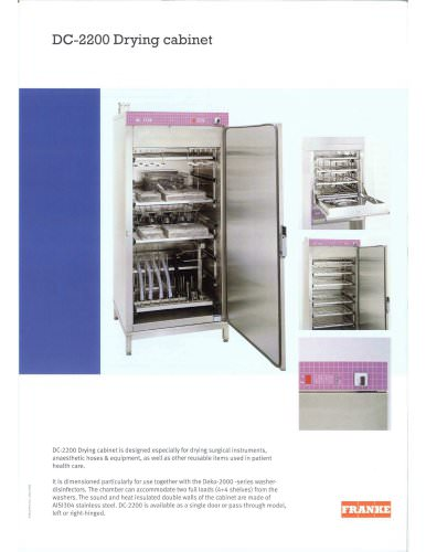 CD-2200 Drying Cabinet