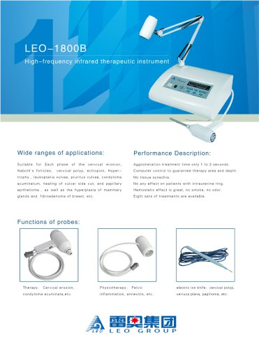 LEO-1800B High Frequency Infrared