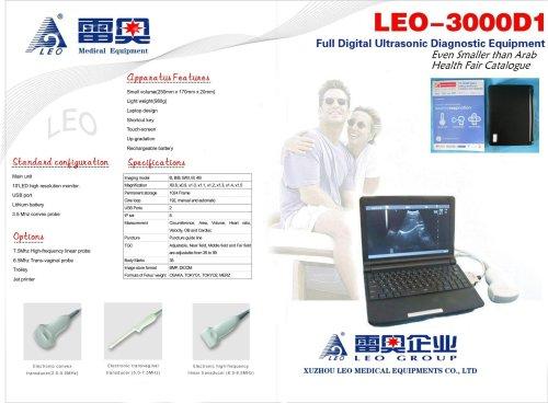 LEO-3000D1 FULL DIGITAL MINI ULTRASOUND