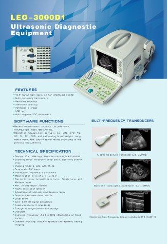 LEO-3000D1 Ultrasound system