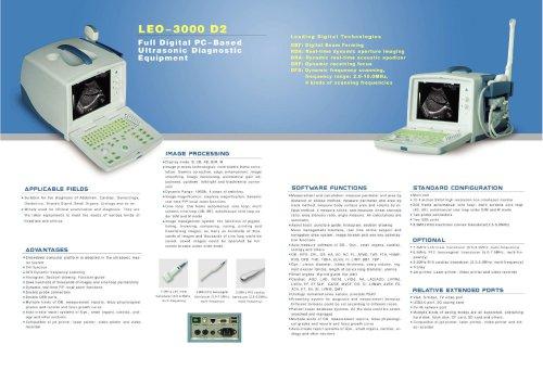 LEO-3000D2 Ultrasonic Diagnostic Equipment