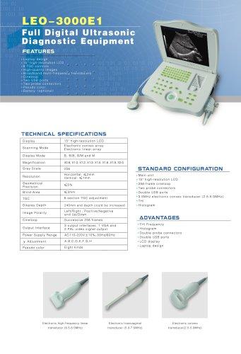 LEO-3000E1 Ultrasound system