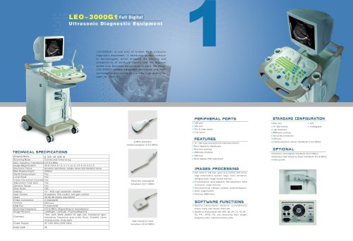 LEO-3000G1 Ultrasound system