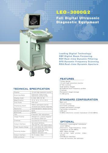LEO-3000G2 Ultrasound system