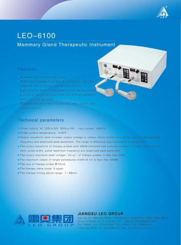 LEO-6100 Mammary-gland Therapeutic Instrument