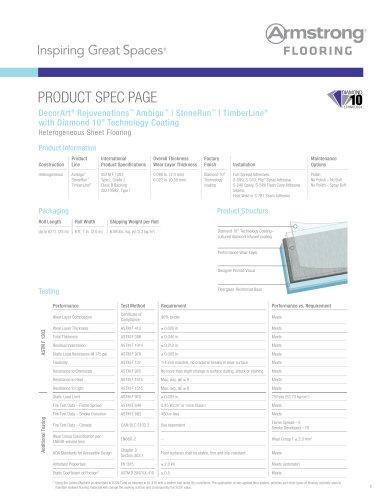 DecorArt® Rejuvenations™ Ambigu™   StoneRun™   TimberLine® with Diamond 10® Technology Coating