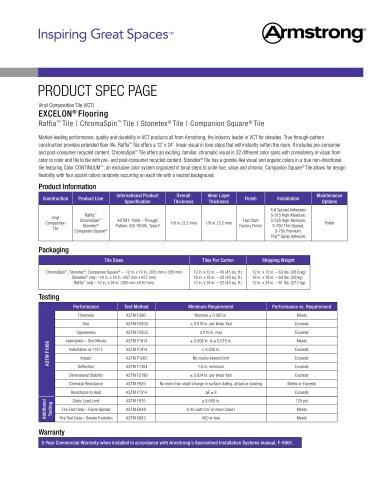 Excelon VCT Data Sheet