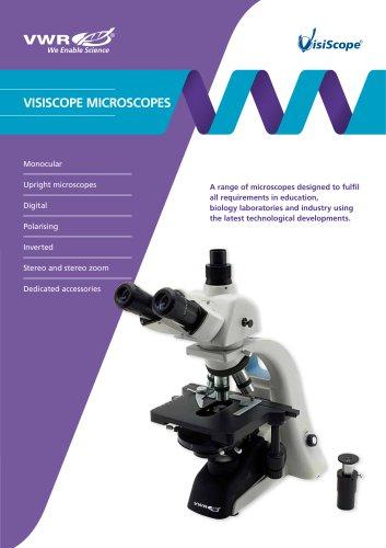 Mono, bino and trinocular microscopes, VisiScope, 200 series