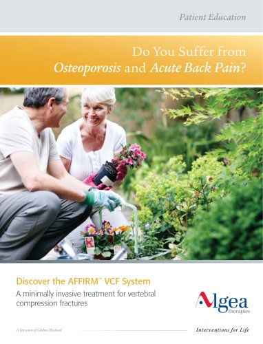Discover the AFFIRM™ VCF System