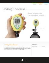 MaxO2 ® +A Scuba
