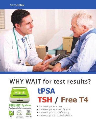 tPSA TSH / Free T4