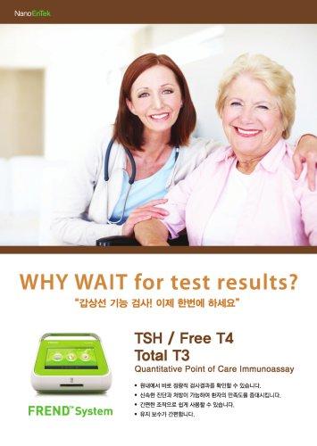 TSH / Free T4 Total T3