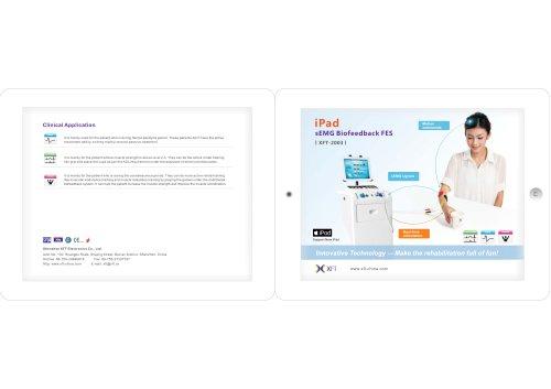 iPad sEMG Biofeedback FES I XFT-2003 |