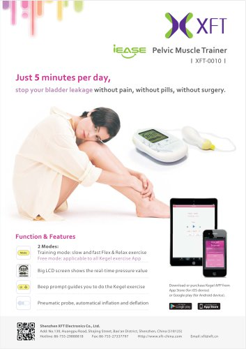 XFT-0010 Plus Pelvic Muscle Trainer
