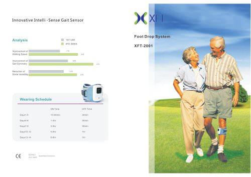XFT-2001 Foot Drop System Brochure 2014