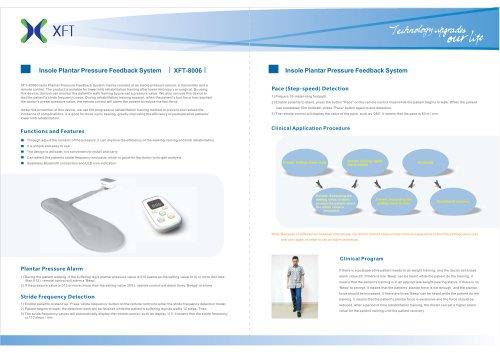 XFT-8006 Insole Plantar Pressure Feedback System