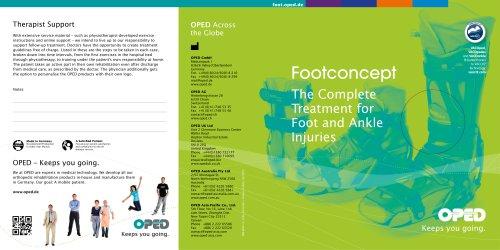 Brochure Foot Range