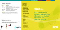 Brochure VADO®plex DVT Prevention & Oedema Management