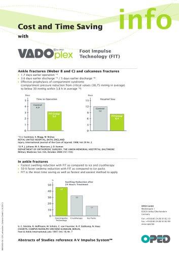 Cost & Time Saving Sheet VADO®plex