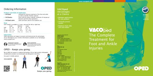 VACOped Brochure