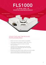 PHOTOLUMINESCENCE SPECTROMETER FLS1000 - 3