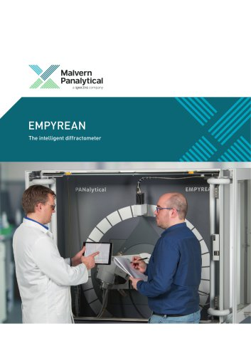 Empyrean - The intelligent diffractometer