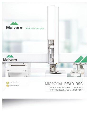 MICROCAL PEAQ-DSC Range