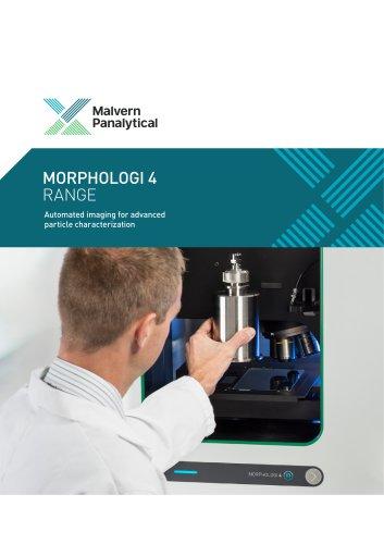 Morphologi 4 Range - Automated imaging for advanced particle characterization