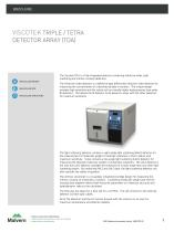 Viscotek Triple/Tetra Detector array (TDA) - 1