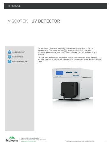 Viscotek UV