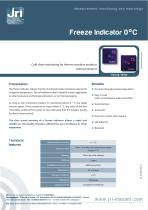 FREEZE INDICATOR 0°C - 1