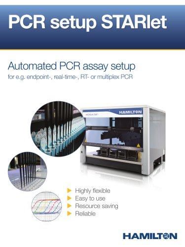 PCR setup