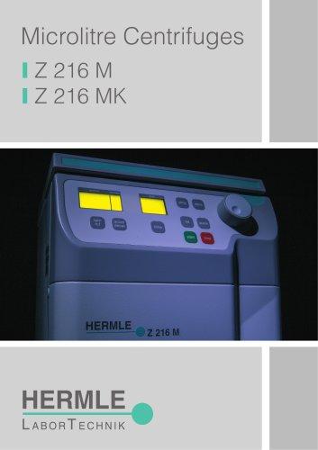 Microlitre Centrifuge Z 216 M / Z 216 MK