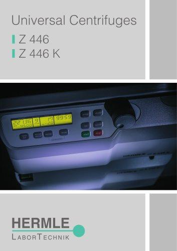 Universal Centrifuge Z 446 / Z 446 K