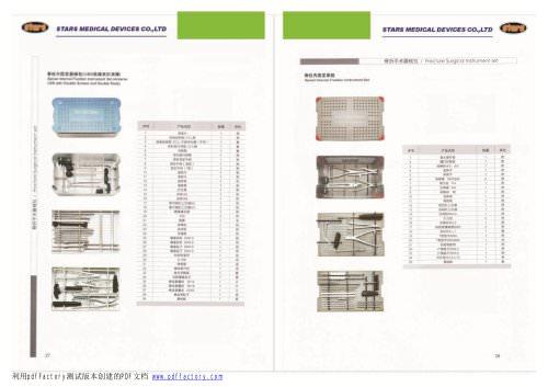Spinal Instrument Sets 01