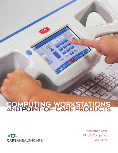 COMPUTING WORKSTATIONS AND POINT-OF-CARE PRODUCTS