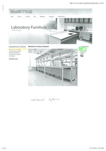 Modulex Furniture System