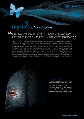 Myrian XP-LungNodule