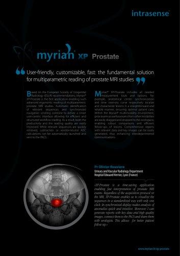 Myrian XP-Prostate