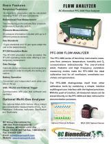 FLOW ANALYZER BC Biomedical PFC-3000 Flow Analyzer