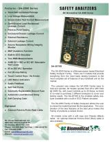Safety Analyzer - 10 Patient Leads - ECG Simulator