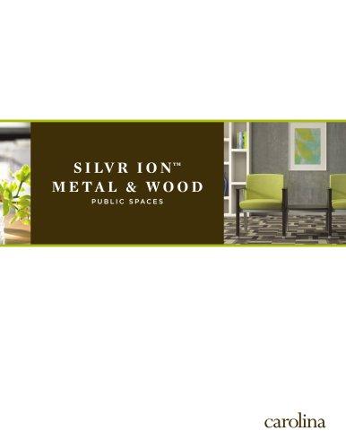 Silvr Ion Wood Bench